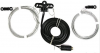 MW band wire antenna with balun V1