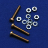5x M3 screw + nut + washer