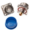 7/16 female flange for RG142 or .141 semirigid - easy install