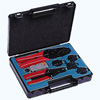 Profesional crimping tool in a case
